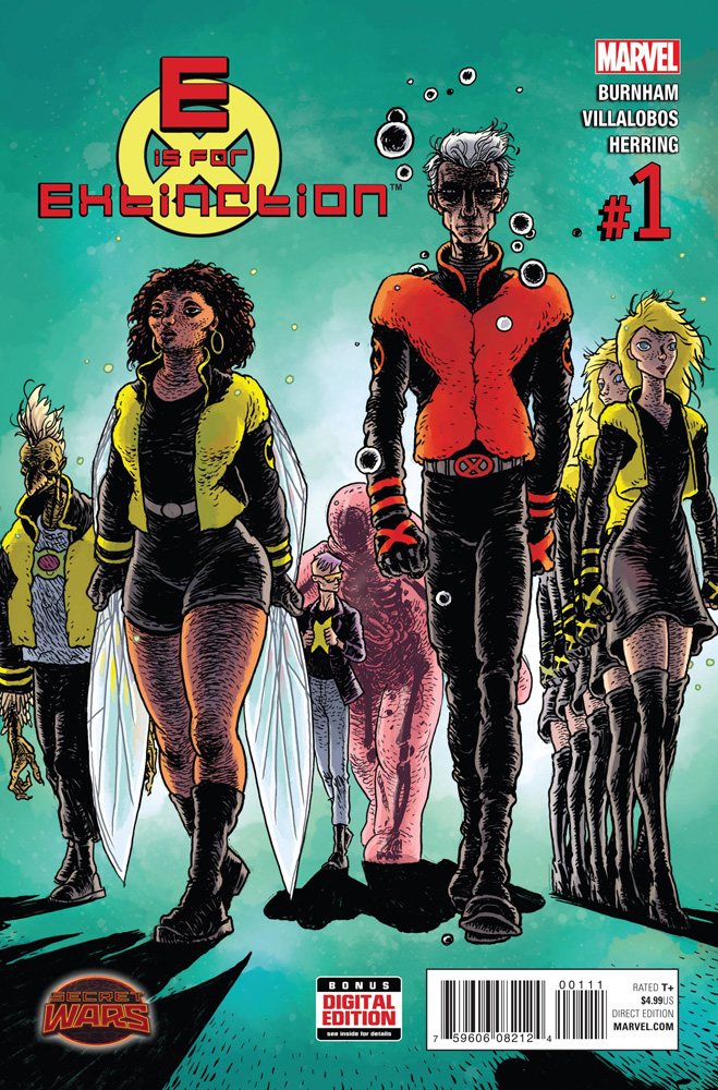 Image: E Is for Extinction #1 - Marvel Comics