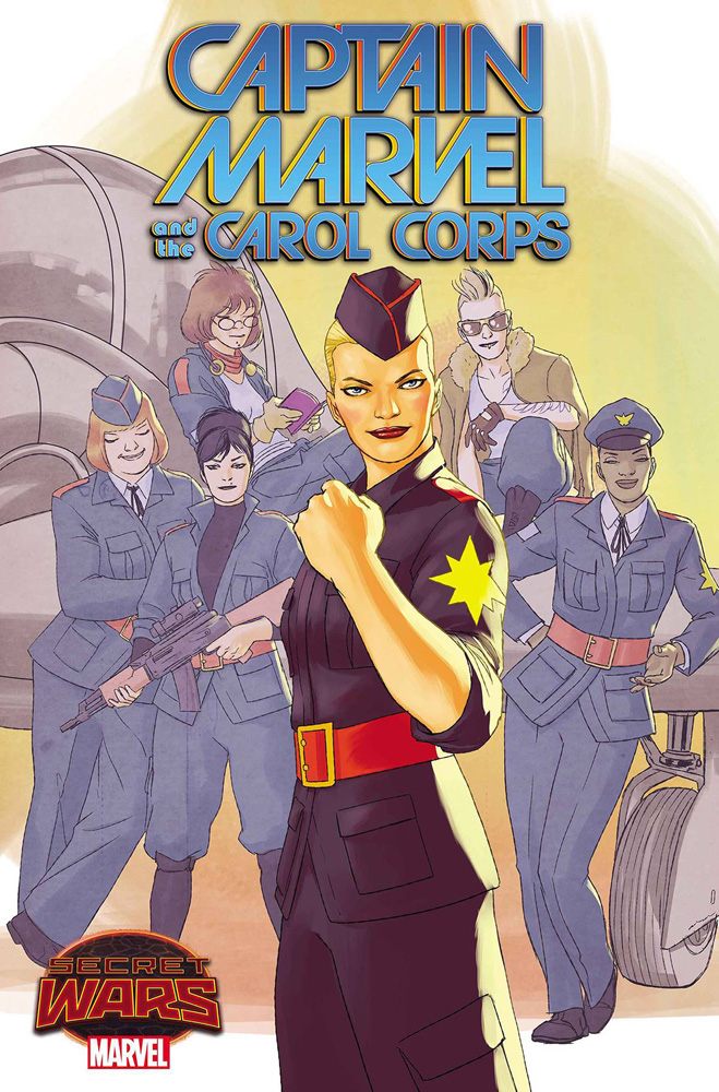 Image: Captain Marvel & the Carol Corps #1 - Marvel Comics