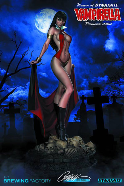 Women of Dynamite Statue: Vampirella  -
