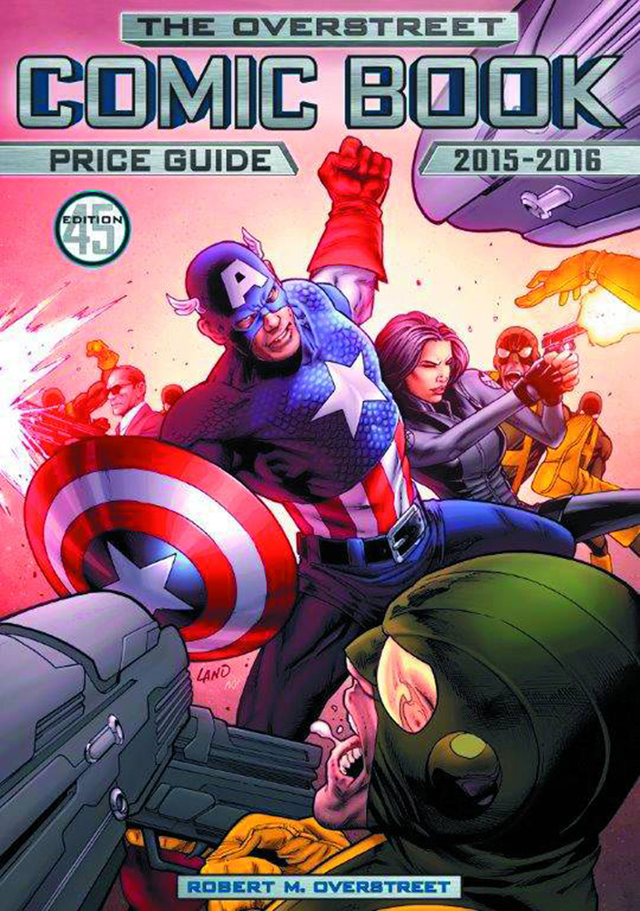 Image: Overstreet Comic Book Price Guide Vol. 45 HC  (Captain America & S.H.I.E.L.D. cover) - Gemstone Publishing