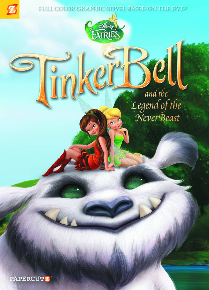 Image: Disney Fairies Vol. 17: Tinker Bell and the Legend of the Neverbeast HC  - Papercutz