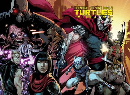 Teenage Mutant Ninja Turtles Villians Collection HC  - IDW Publishing