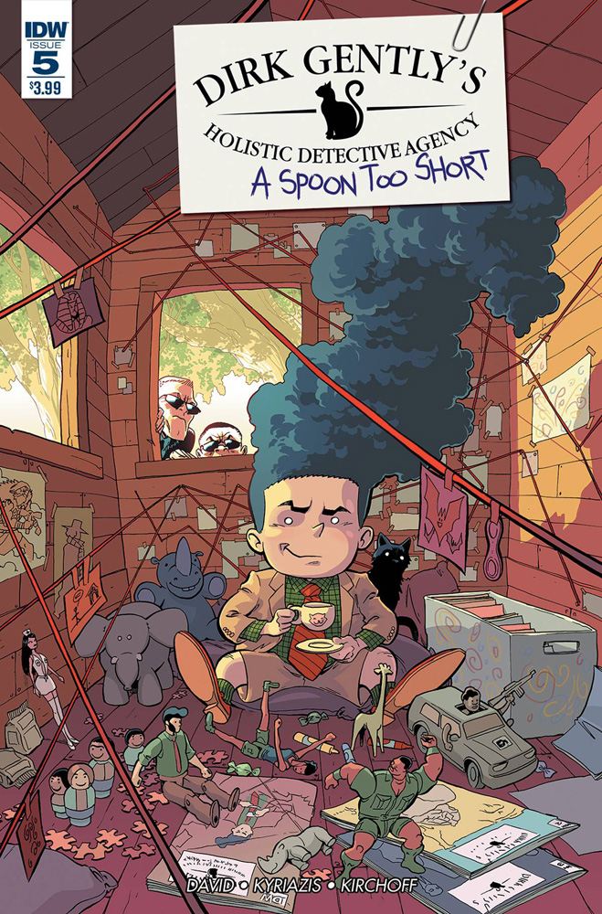 Image: Dirk Gently's Holistic Detective Agency: A Spoon Too Short #5  [2016] - IDW Publishing