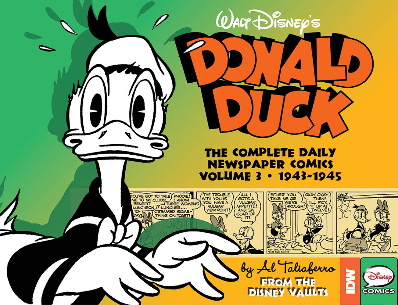 Image: Walt Disney's Donald Duck: The Daily Newspaper Comics Vol. 03  (1943-1945) HC - IDW Publishing