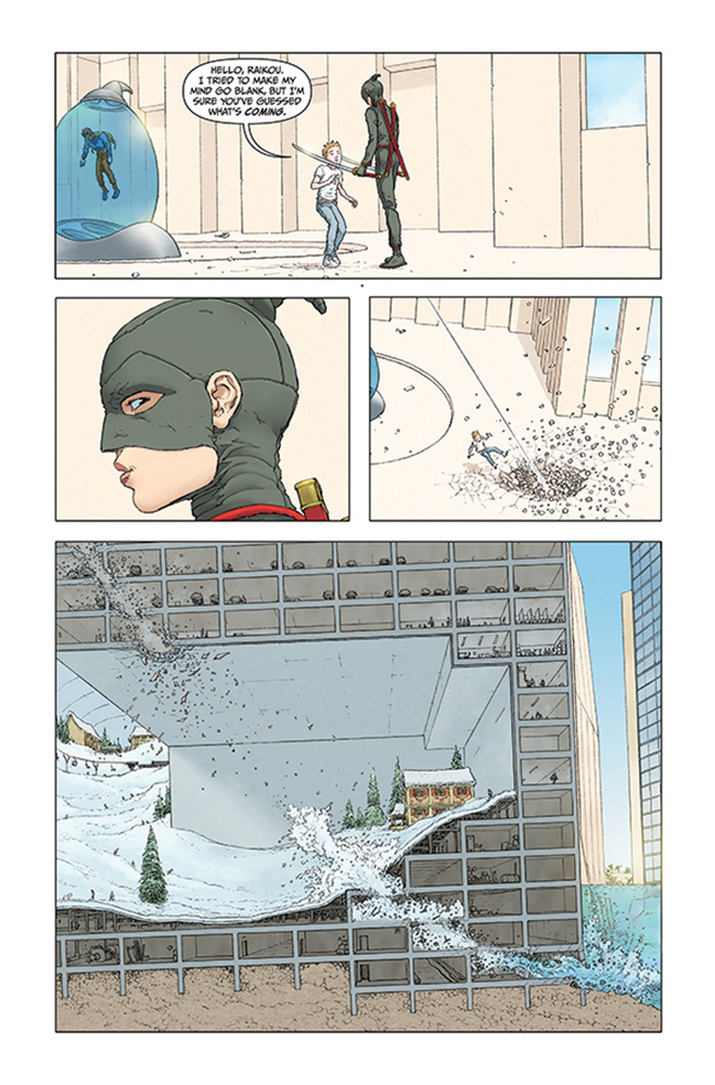 Jupiter's Legacy 2 #1 (cover B)  [2016] - Image Comics