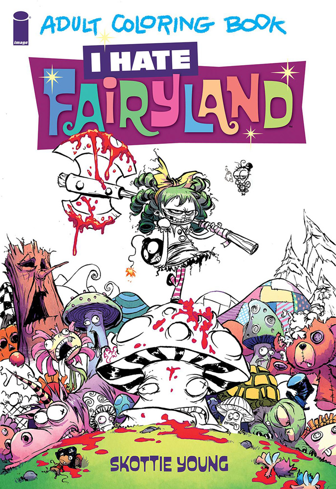 Image: I Hate Fairyland Adult Coloring Book SC  - Image Comics