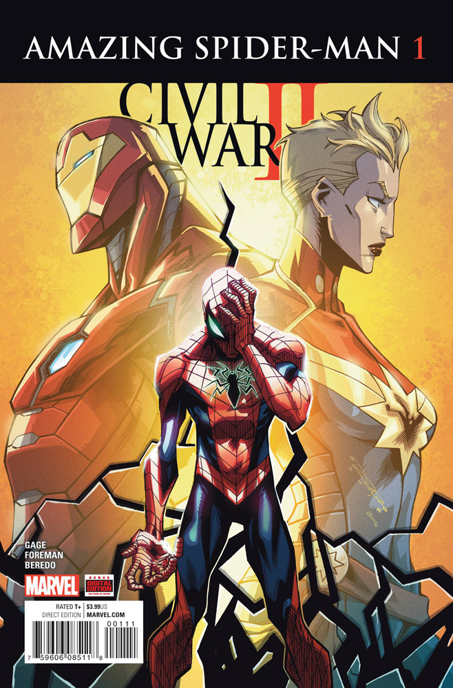 Image: Civil War II: Amazing Spider-Man #1  [2016] - Marvel Comics