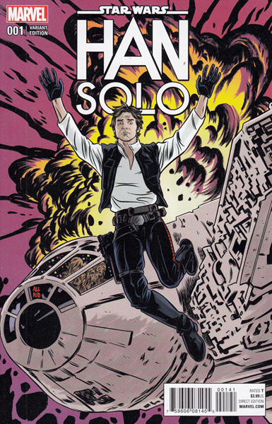 Image: Han Solo #1 (Allred variant cover - 00141)  [2016] - Marvel Comics