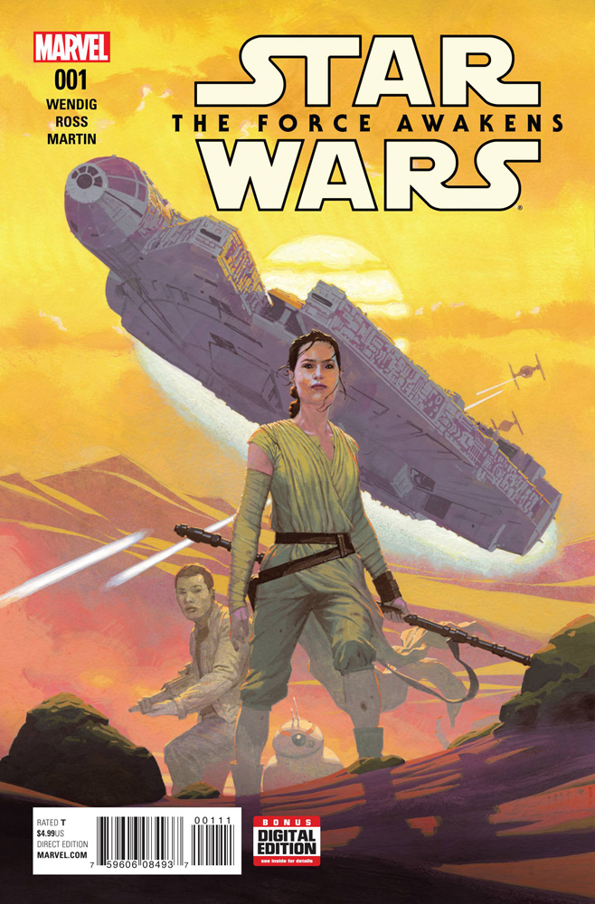 Image: Star Wars: The Force Awakens Adaptation #1  [2016] - Marvel Comics