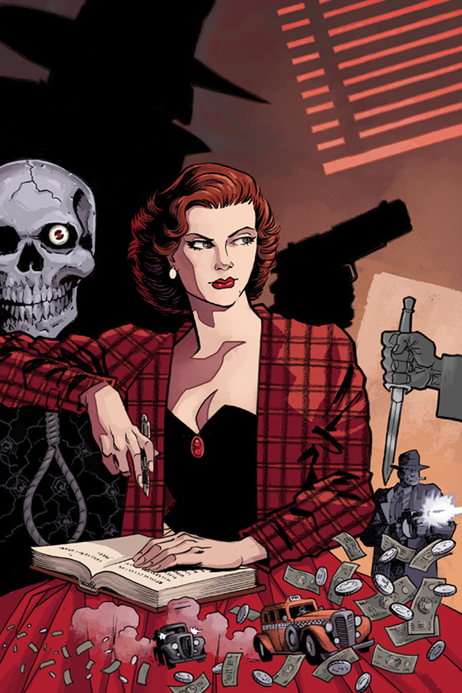 Shadow: The Death of Margo Lane #1 (cover A - Wagner)  [2016] - Dynamite