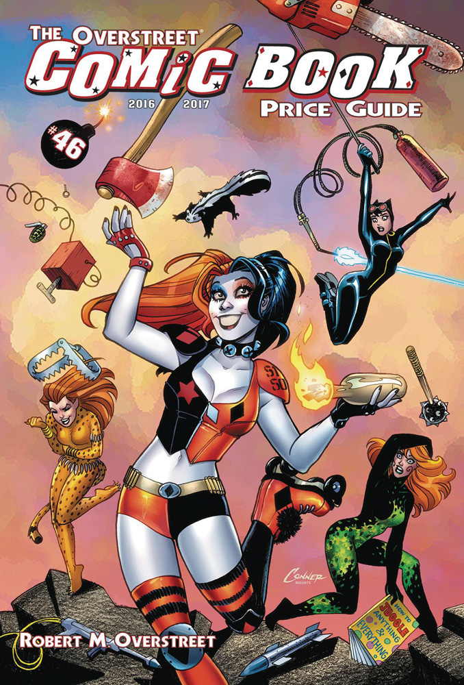 Image: Overstreet Comic Book Price Guide Vol. 46 SC  (Harley Quinn cover) - Gemstone Publishing
