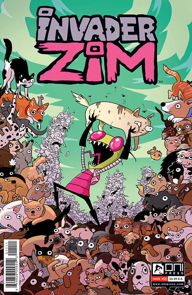 Image: Invader Zim #11  [2016] - Oni Press Inc.