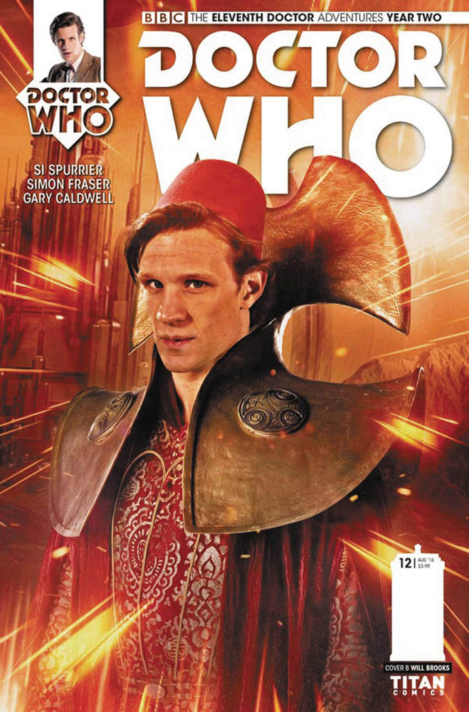 Image: Doctor Who: The 11th Doctor - Year Two #12 (cover B - Photo)  [2016] - Titan Comics