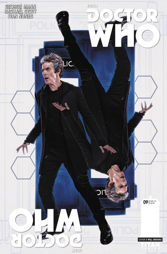 Image: Doctor Who: The 12th Doctor - Year Two #9 (cover B - Photo)  [2016] - Titan Comics