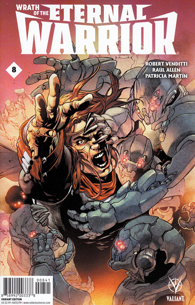 Image: Wrath of the Eternal Warrior #8 (Segovia variant incentive - 00841) (10-copy)  [2016] - Valiant Entertainment LLC