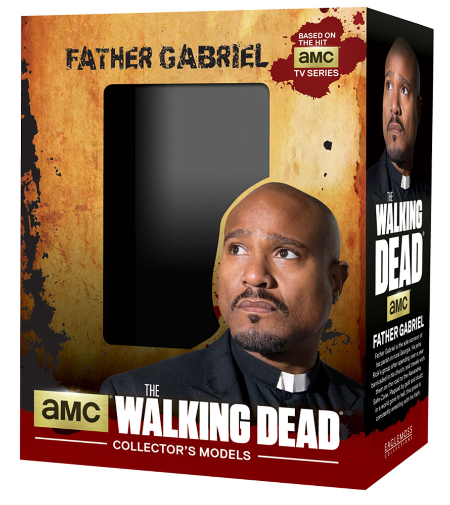 Walking Dead Collector's Model: Father Gabriel  - Eaglemoss Publications Ltd