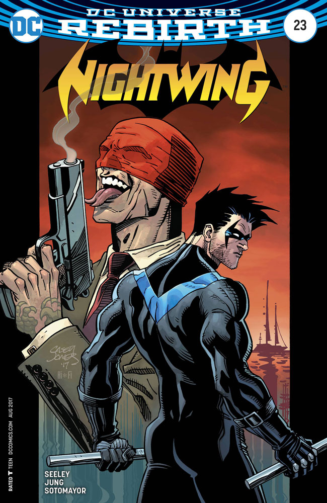 Image: Nightwing [2017] #23 (Casey Jones variant cover)  [2017] - DC Comics