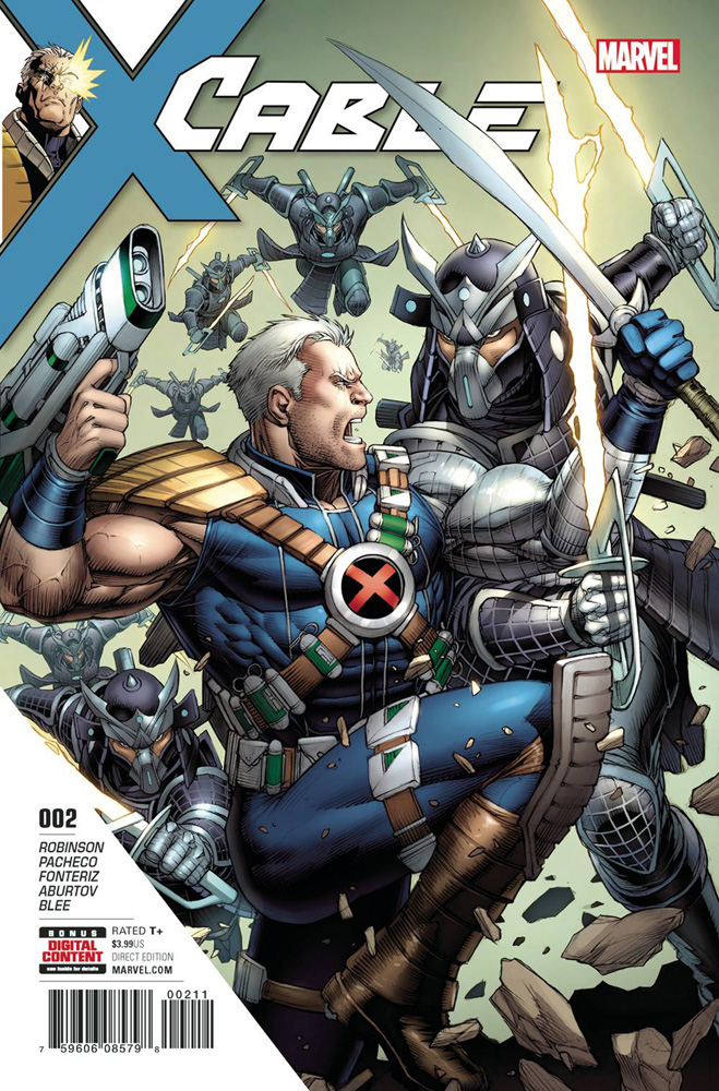 Image: Cable #2  [2017] - Marvel Comics