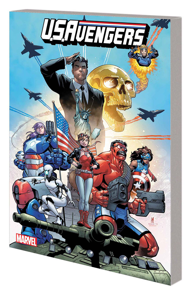 Image: U.S.Avengers Vol. 01: American Intelligence Mechanics SC  - Marvel Comics