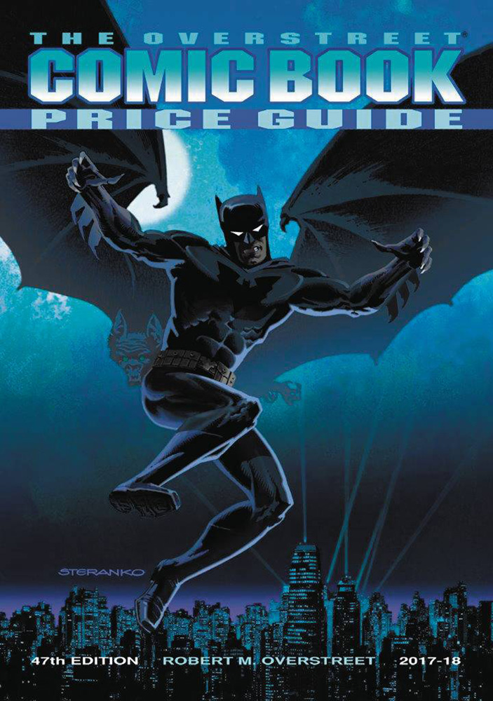 Image: Overstreet Comic Book Price Guide 47th Edition, 2017-2018 HC  (Steranko Batman cover) - Gemstone Publishing