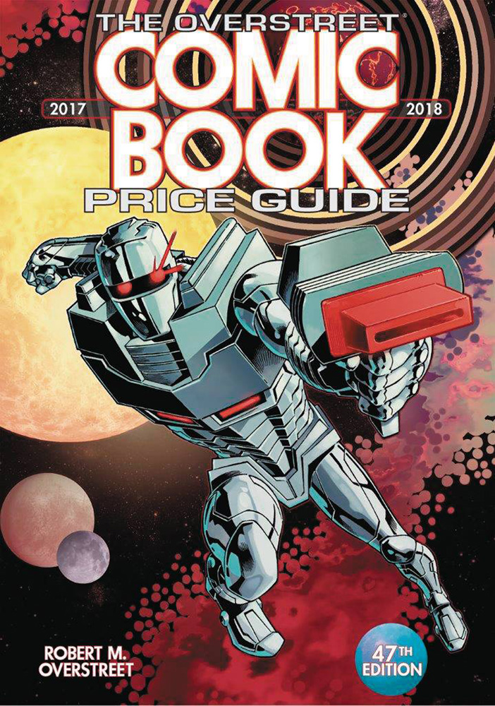 Image: Overstreet Comic Book Price Guide 47th Edition, 2017-2018 SC  (Rom cover) - Gemstone Publishing
