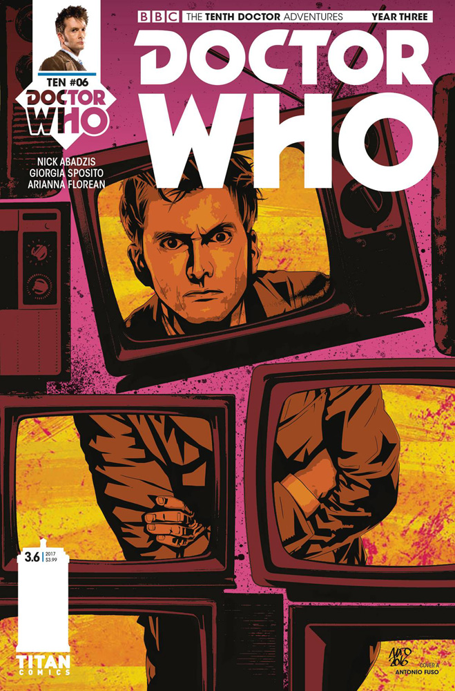 Image: Doctor Who: The 10th Doctor - Year Three #6 (cover A - Fuso)  [2017] - Titan Comics