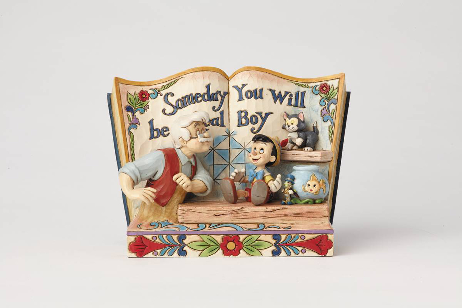 Image: Disney Traditions Figure: Pinocchio Storybook  - Enesco Corporation