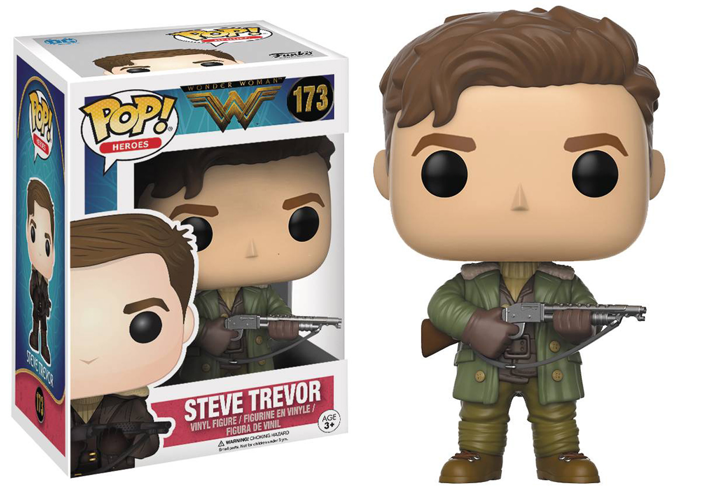 Pop! Wonder Woman Movie Vinyl Figure: Steve Trevor  - Funko