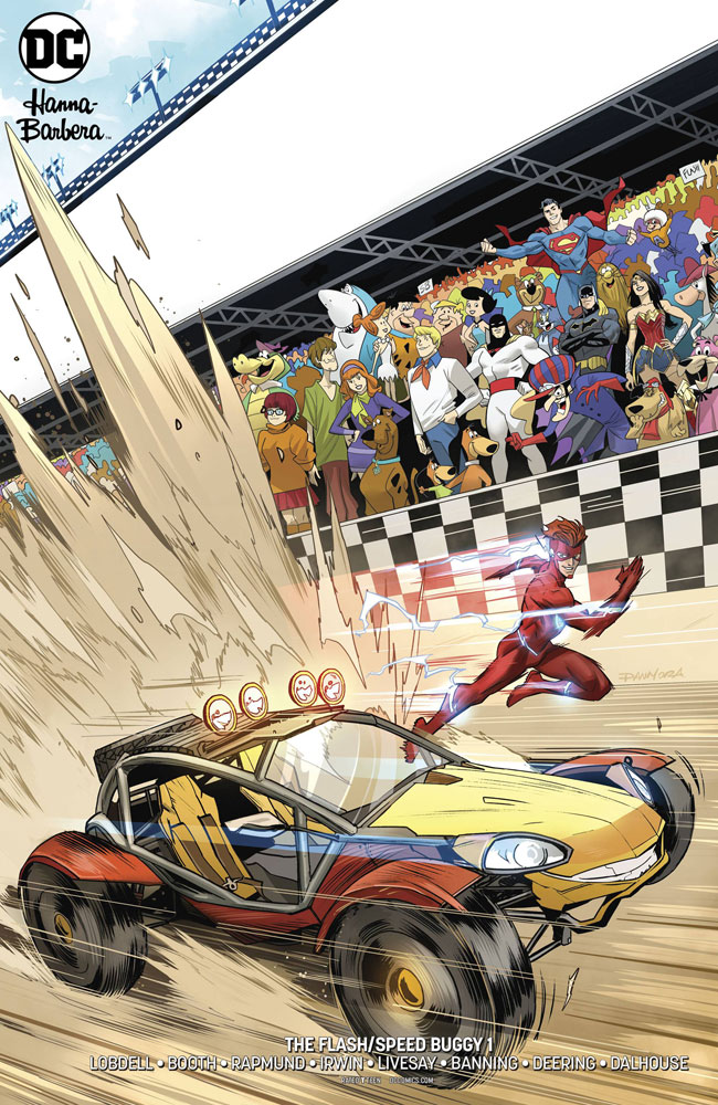 Image: Flash / Speed Buggy Special #1 (variant cover - Dan Mora)  [2018] - DC Comics