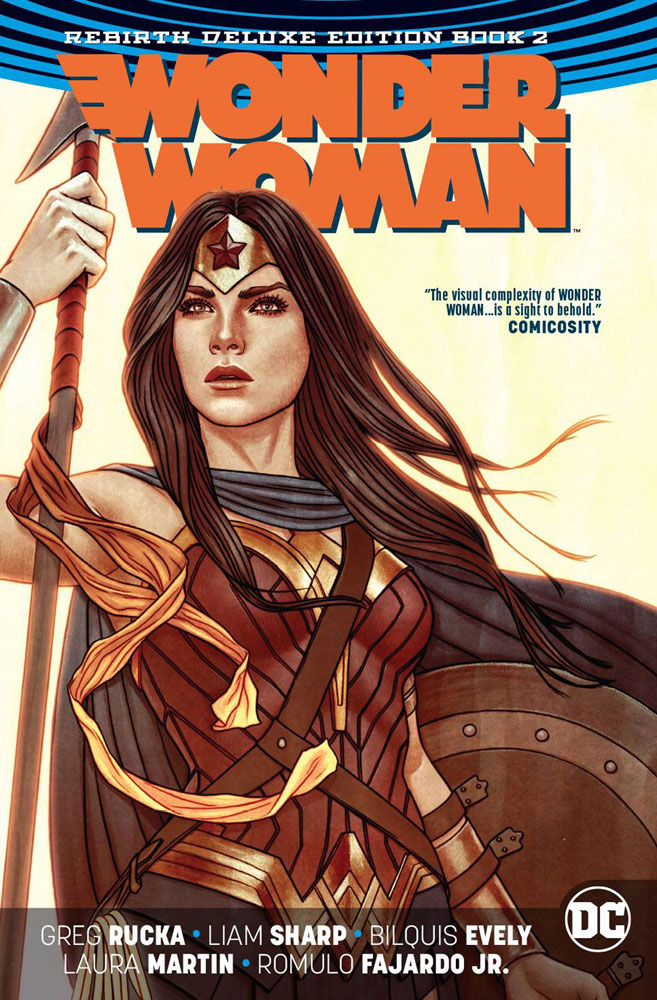 Image: Wonder Woman Rebirth Deluxe Collection Vol. 02 HC  - DC Comics