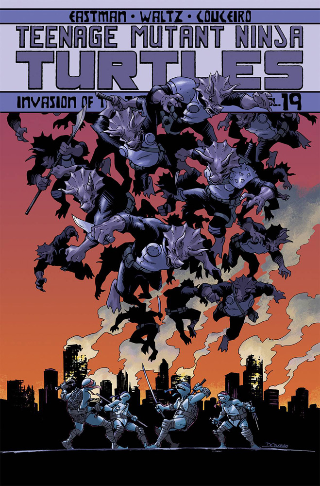 Image: Teenage Mutant Ninja Turtles Vol. 19: Invasion of the Triceratons SC  - IDW Publishing