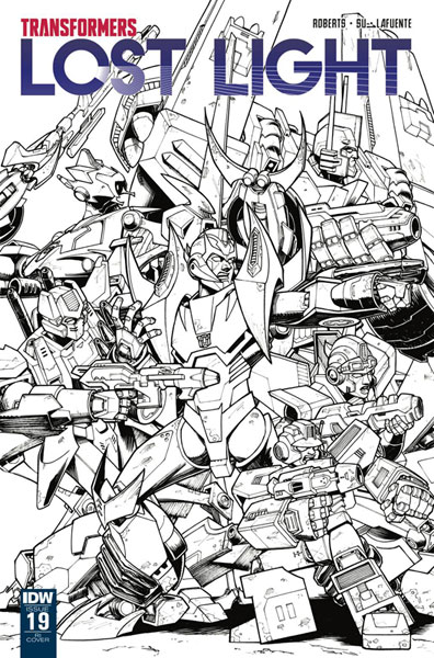 Image: Transformers: Lost Light #19 (incentive cover - Nick Roche) (10-copy)  [2018] - IDW Publishing