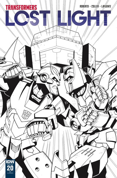 Image: Transformers: Lost Light #20 (incentive cover - Jack Lawrence) (10-copy)  [2018] - IDW Publishing