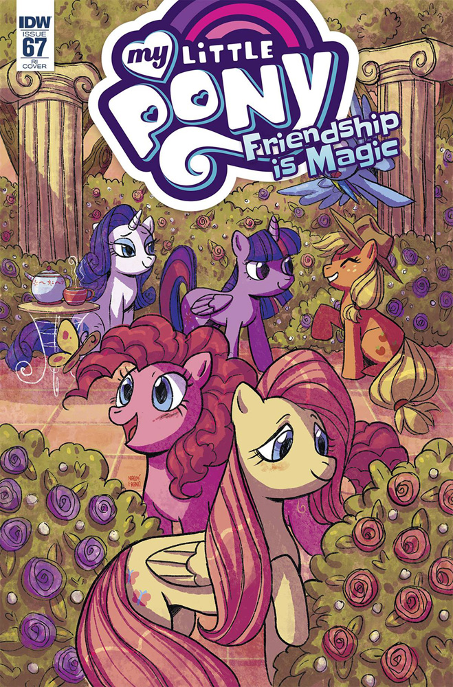 Image: My Little Pony: Friendship Is Magic #67 (incentive cover - Naomi Franquiz) (10-copy)  [2018] - IDW Publishing