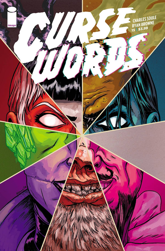 Image: Curse Words #15 (cover A - Browne)  [2018] - Image Comics
