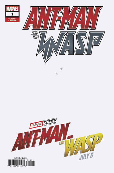 Image: Ant-Man and The Wasp #1 (variant cover - Movie)  [2018] - Marvel Comics