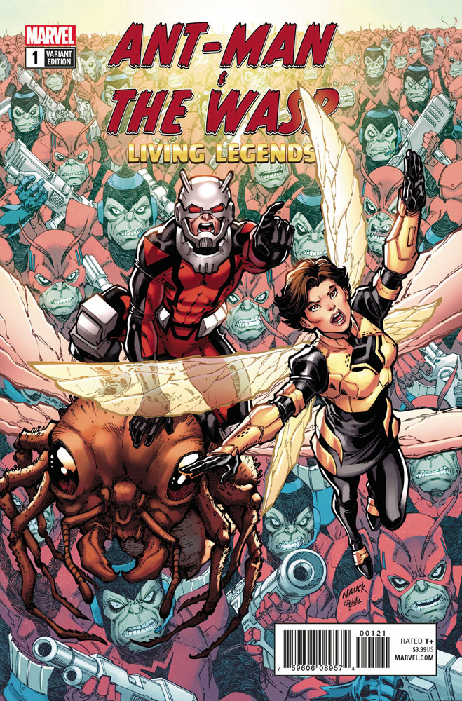 Image: Ant-Man & the Wasp: Living Legends #1 (variant cover - Nauck)  [2018] - Marvel Comics