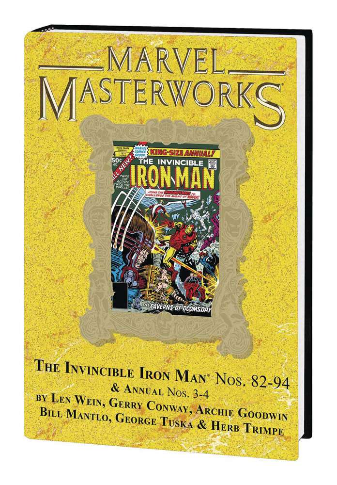 Image: Marvel Masterworks Vol. 266: The Invincible Iron Man Nos. 82-94, Annual Nos. 3-4 HC  - Marvel Comics