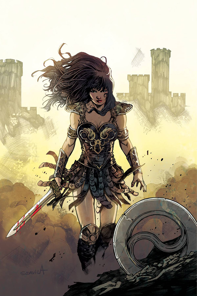 Image: Xena: Warrior Princess Vol. 04 #5 (cover C incentive - Davila virgin) (10-copy)  [2018] - Dynamite