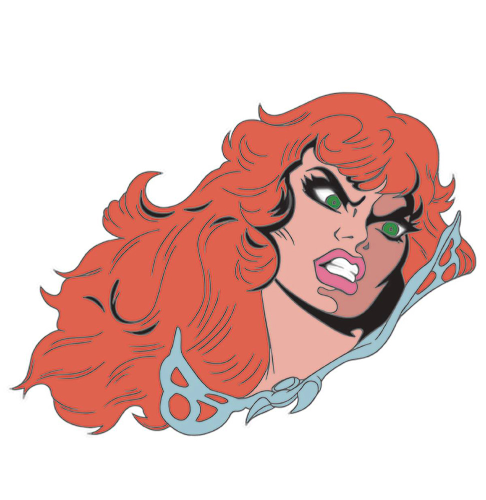 Image: Red Sonja by Frank Thorne Enamel Pin  - Dynamite