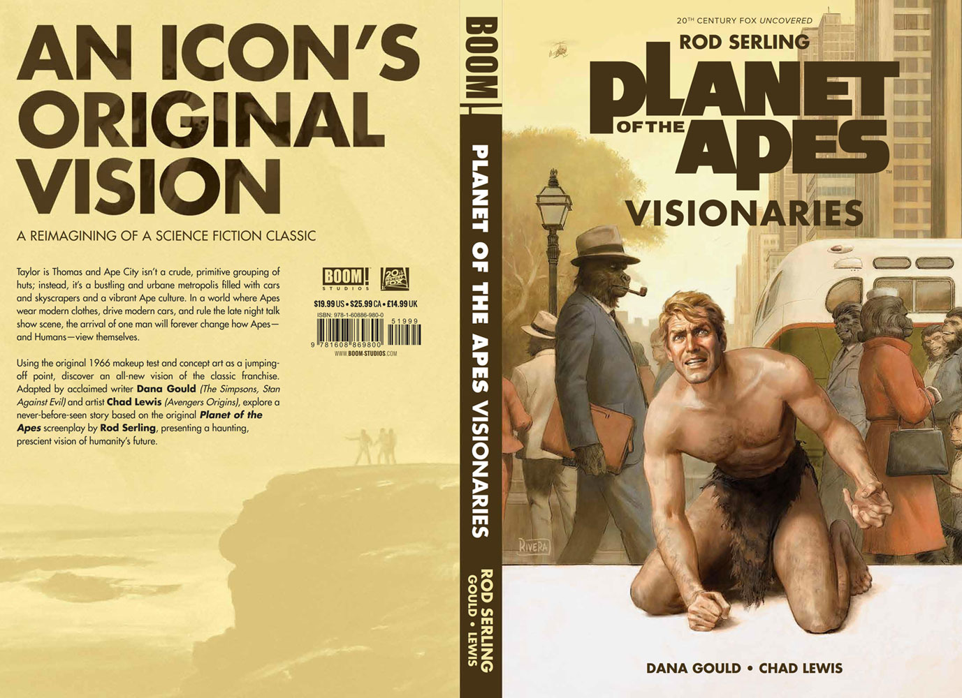 Planet of the Apes Visionaries HC  - Boom! Studios
