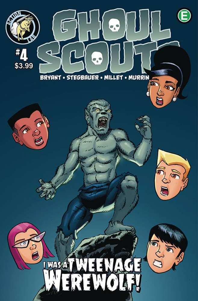 Image: Ghoul Scouts: I Was a Tweenage Werewolf #4  [2018] - Action Lab Entertainment