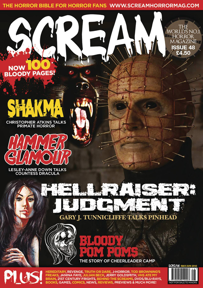 Image: Scream Magazine #49 - Diamond Comic Dist--England