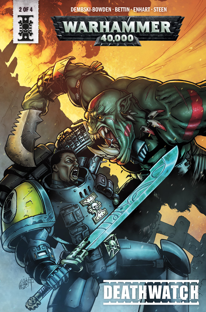 Image: Warhammer 40,000: Deathwatch #2 (cover B - Bettin)  [2018] - Titan Comics