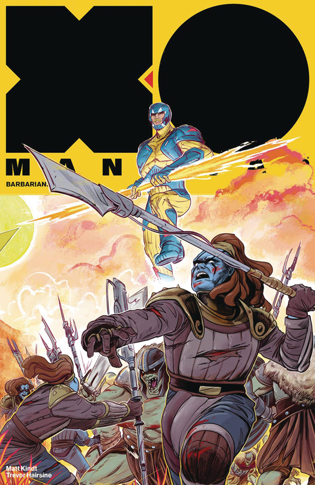 Image: X-O Manowar [2017] #16 (cover C incentive - Fish) (20-copy)  [2018] - Valiant Entertainment LLC