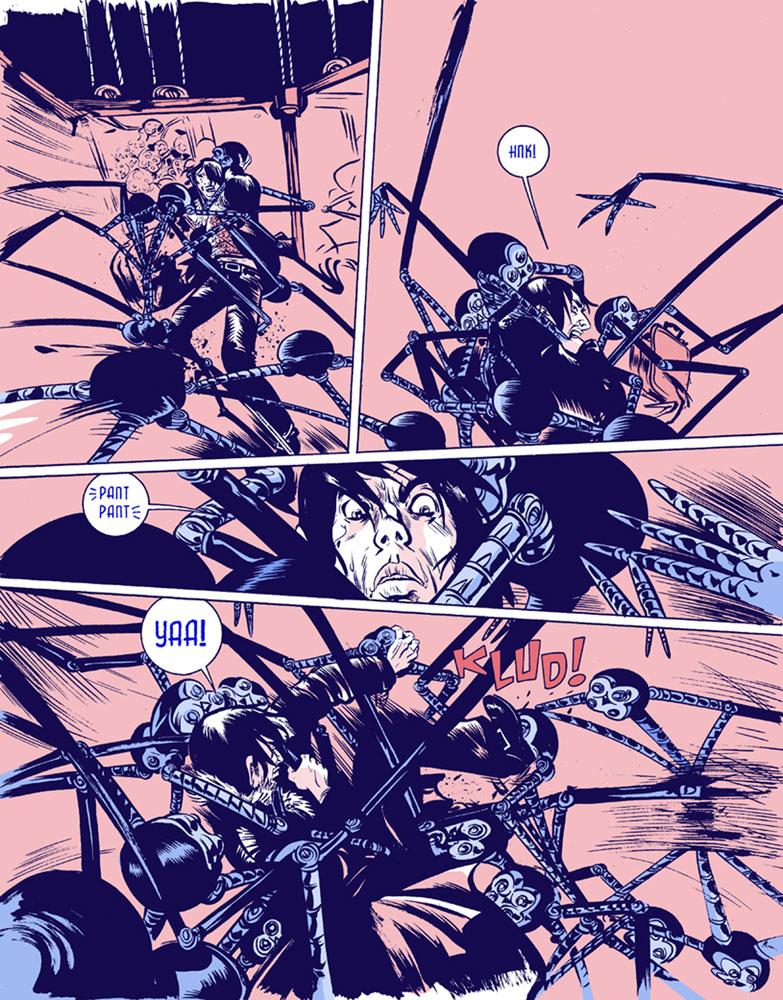 Heavy Liquid SC  - Image Comics