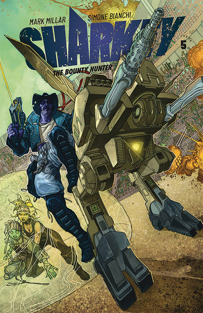 Image: Sharkey the Bounty Hunter #5 (cover A - Bianchi) - Image Comics