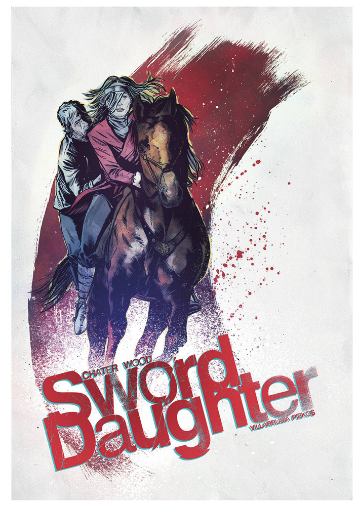 Image: Sword Daughter #7 (cover B - Chater) - Dark Horse Comics