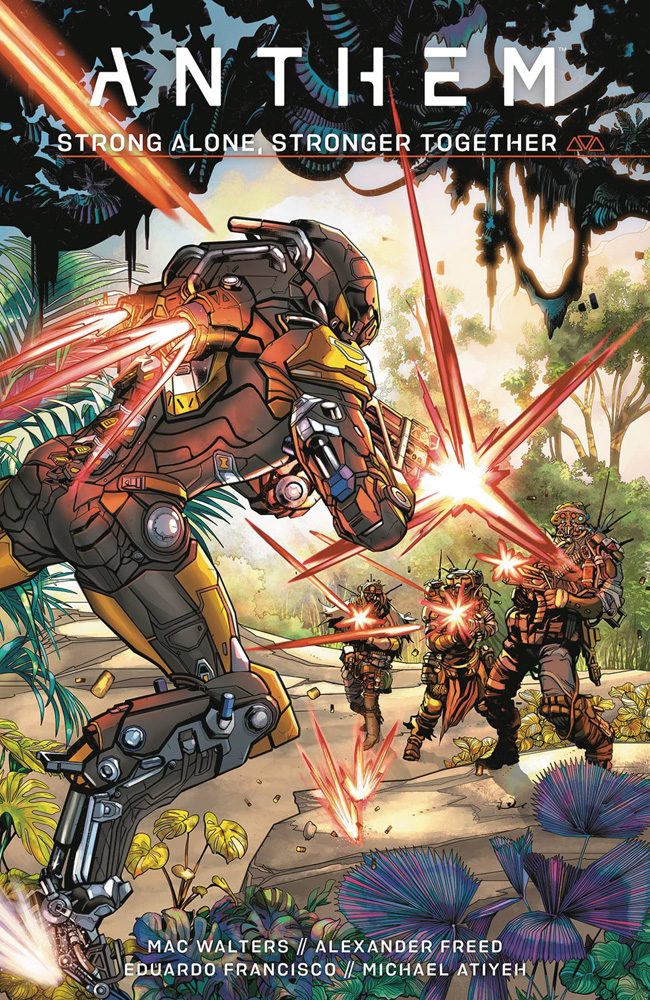 Image: Anthem: Strong Alone, Stronger Together HC  - Dark Horse Comics