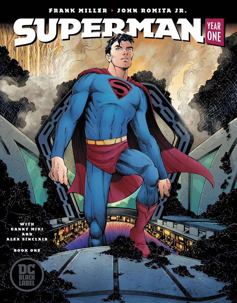 Image: Superman Year One #1 (Romita cover) - DC - Black Label